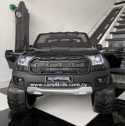 4x4 Ford Ranger Black Matt with 2.4G R/C under License