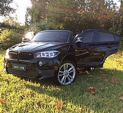 BMW X6M Painting Black with 2.4G R/C under License
